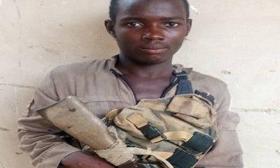 Boko Haram Member Voluntarily Submits Himself To Nigerian Military (Photo)