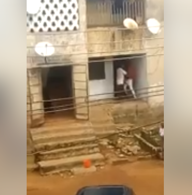 Boy Fights His Father For Not Giving Him Money For Food (Video)