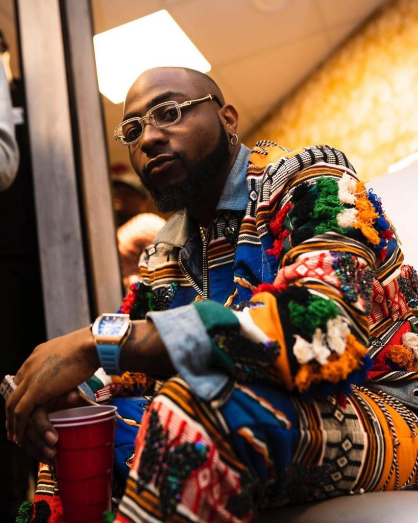 Davido Makes History In America