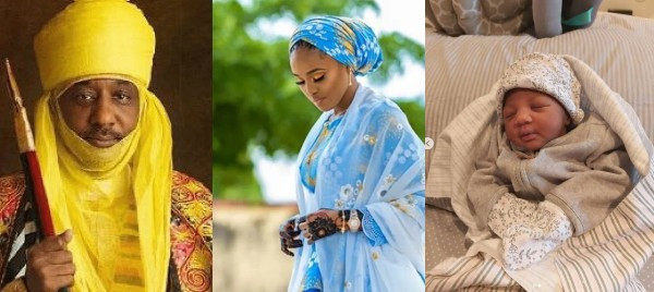 Dethroned Emir of Kano, Sanusi Lamido Sanusi Welcomes Baby Girl With His 4th Wife (Photos)