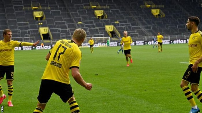 Dortmund 4 – 0 Schalke 04 Highlights Mp4 Download