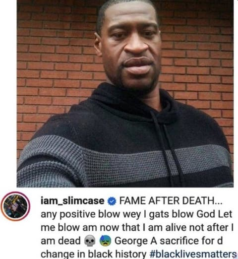 Leave #JusticeforTina, It's A local Issue, #JusticeforGeorgeFloyd Is Global - Singer, Slimcase