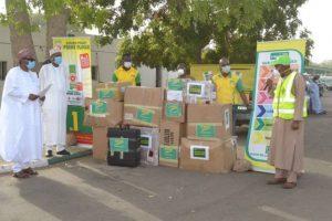 COVID-19: Flour Mills Of Nigeria Distributes 35,000 Test Kits To Kano, 14 States 5