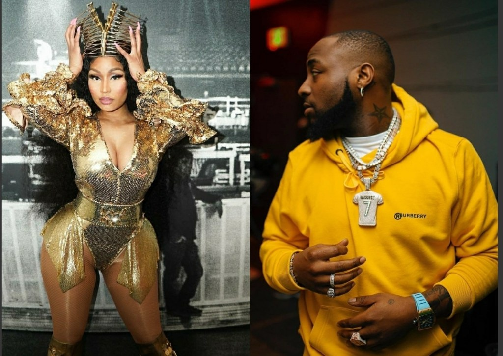Davido Set To Release New Song With Nicki Minaj