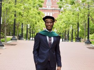 Tears Of Joy As Nigerian Man Who Applied For Admission To 8 Different Schools Graduates From Johns Hopkins School of Medicine 3