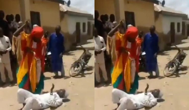 Iman Flogged Publicly For Conducting Prayers Despite Lockdown Order (Video)