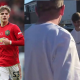Man United Defender, Brandon Williams Gifts His Dad New £40,000 Mercedes On His Birthday (Video)