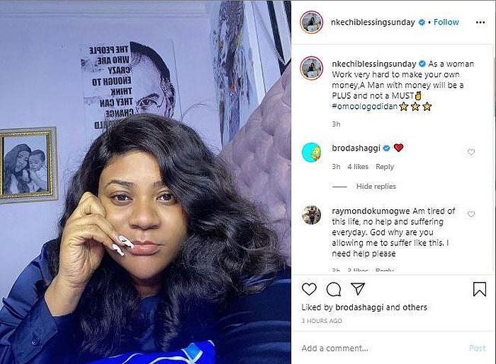 """Work Very Hard To Make Your Own Money"" – Nkechi Blessing Advises Women"