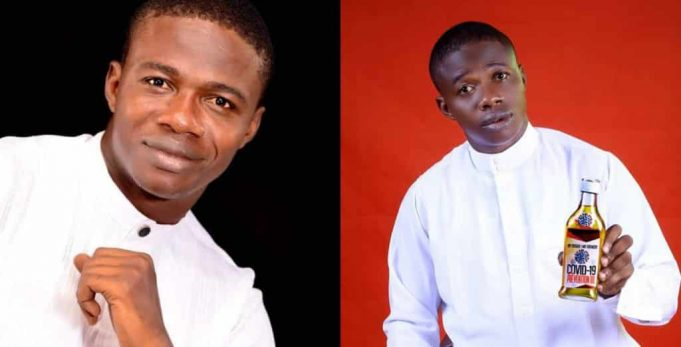 Pastor Puts COVID-19 Prevention Oil Up For Sale For N36,000; Nigerians React