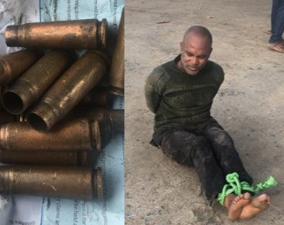 Policeman Opens Fire On His Colleagues In Onikan, Lagos (Photos)