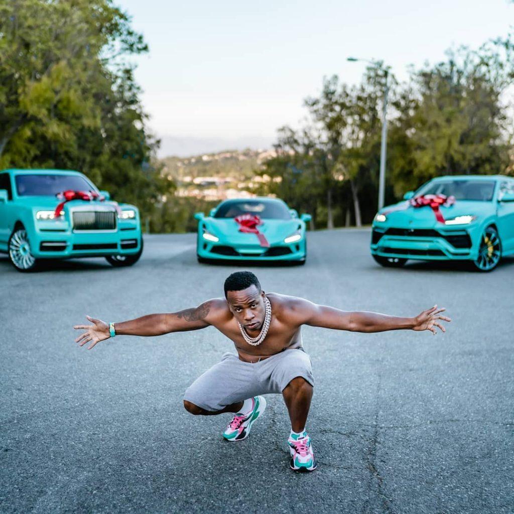 Rapper, Yo Gotti Spends $1.3m On Rolls-Royce, Lamborghini Urus, Ferrari F8, and Richard Mille Watch To Mark 39th Birthday (Photos)