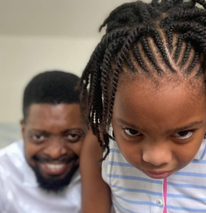 Comedian, Basketmouth celebrates his first daughter on her birthday 5