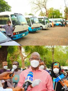 Nasarawa state government sends 788 Almajiris back to their homestates amid Coronavirus pandemic 11