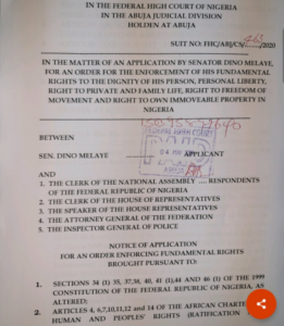 Dino Melaye drags speaker Femi Gbajabiamila to court over controversial 'Control of Infectious Diseases Bill 2020' 6