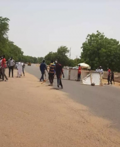 COVID-19 Patients Protest Ill-Treatment & Hunger In Gombe 6