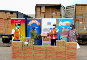 Promasidor Nigeria contributes over N280 million in Cash and Food Products towards COVID-19 fight 3