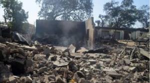 Boko Haram Burns Hospital In Dapchi, District Head's Palace 6