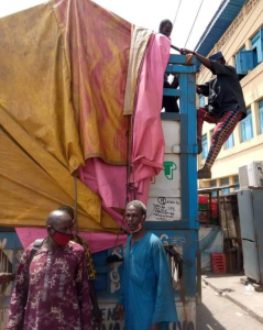CBD Operatives Arrest Miscreants Hidden In A Truck Transporting Goods To Lagos 5