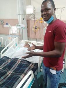 Indian Doctors Remove Odinaka Nweke's Stomach Tumor 6