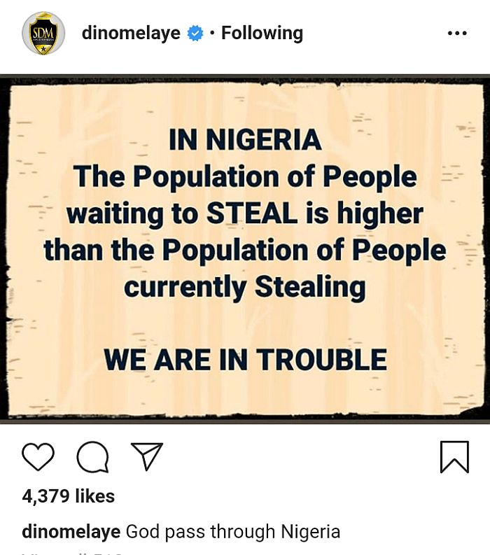 """Population Of People Waiting To Steal Is Higher Than Those Currently Stealing"" – Dino Melaye"