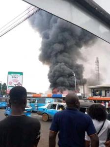 Ogbogonogo Market Asaba On Fire 9