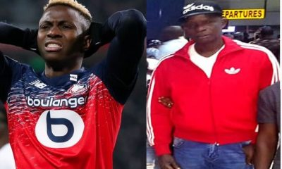 Super Eagles Striker Victor Osimhen's Father Is DEAD