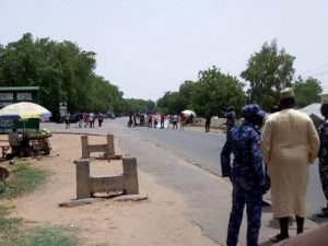 COVID-19 Patients Protest Ill-Treatment & Hunger In Gombe 5