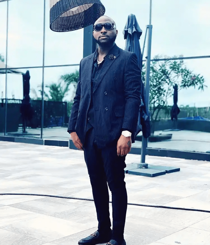 'Abeg No Wear Suit Again' – Fan To Davido After He Shared This Photo