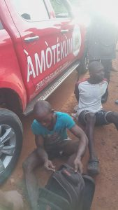 Two Arrested For Stealing Female Pants In Osun 4
