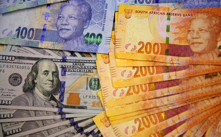 South Africa's Rand Moves To 8 Week High Against USD