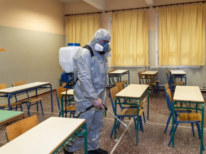 COVID-19: Schools To Be Disinfected Nationwide