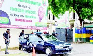 BREAKING: APC National Secretariat Sealed Again