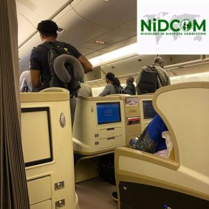 BREAKING: Plane With 317 Stranded Nigerians Arrives Abuja Airport From UK (Video)