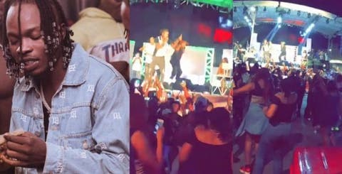 Singer, Naira Marley Held A Fully Packed Concert In Abuja