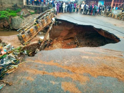 Bridge Collapses In Kwara State, One Person Confirmed Dead (Photos) 4