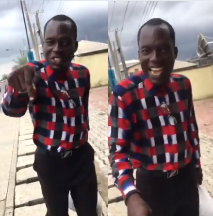 Pastor Seen Harassing Ladies Over Their Dressing While Doing Street Evangelism (Video)
