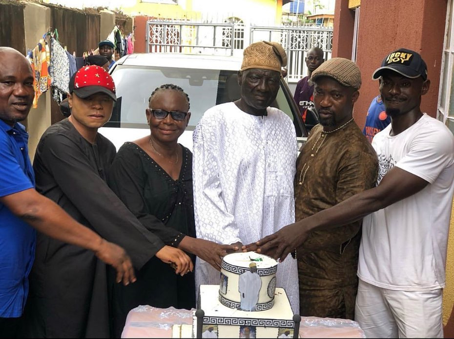 Photos From Bobrisky's Father's Birthday Party