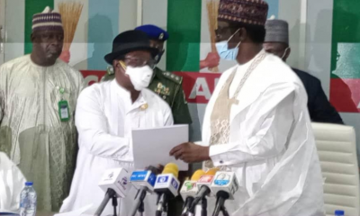 Giadom hands APC Leadership Over To Governor Buni
