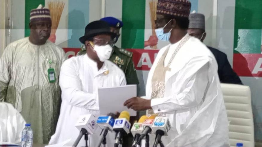 Giadom hands APC Leadership Over To Governor Buni