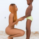 Ghanaian Actress, Akupem Poloo Goes Naked In Front Of Her Son To Celebrate His Birthday