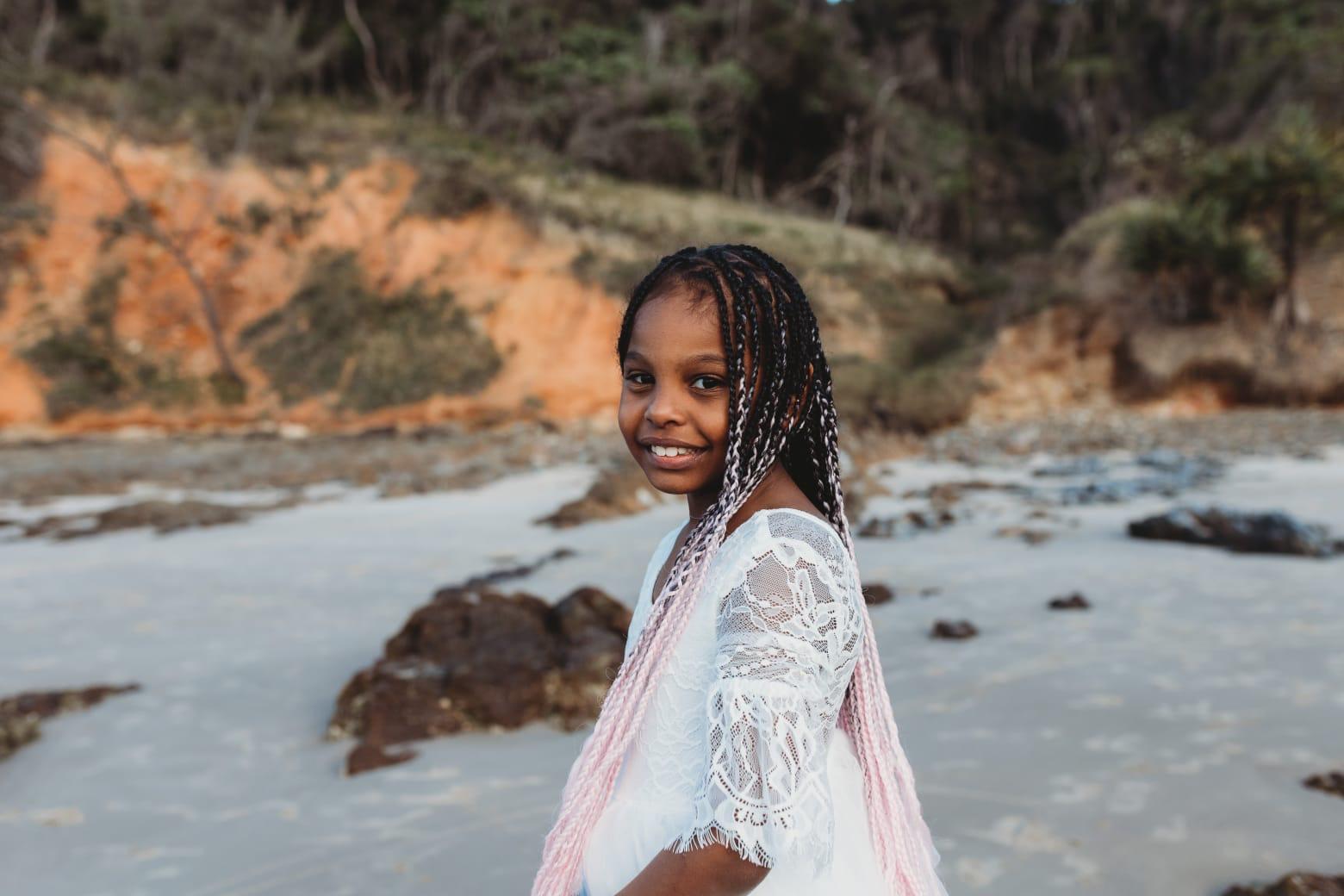 Singer, Mistaspy and Natjassia Okeke's Daughter Ayanna Turns 7