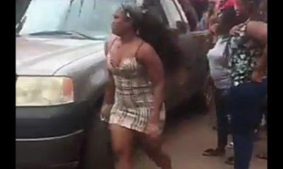 BBNaija Star, Cee-C's Car Suffers Brake Failure In Enugu (Video)