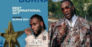 Bet Awards2020: Burna Boy Wins Best International Act (Full List of Winners)