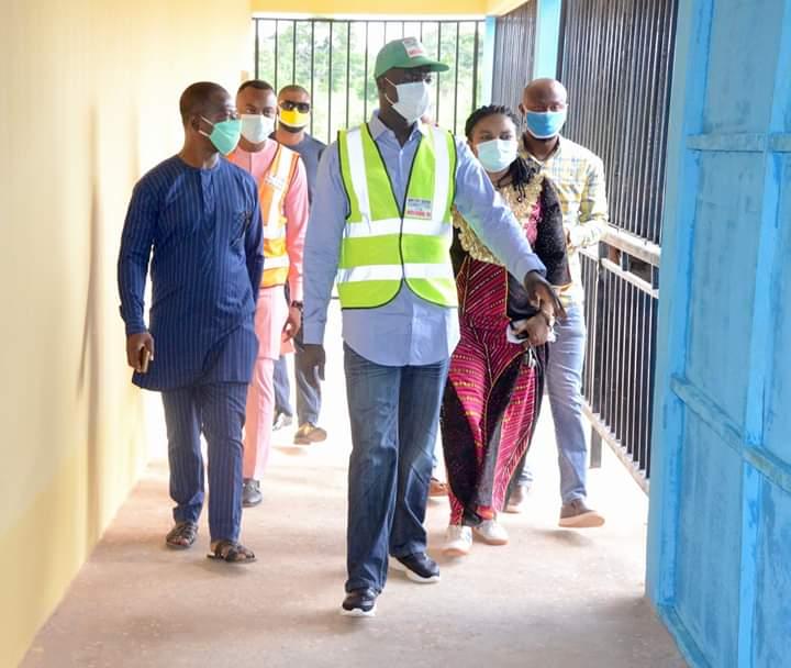 COVID-19: Governor Umahi Commissions 150-Bed Hospital In Ebonyi (Photos) 6
