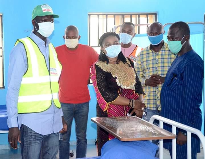 150-bed General Hospital, Elinwobvu in Amegu, Abakaliki Local Government of Ebonyi State.