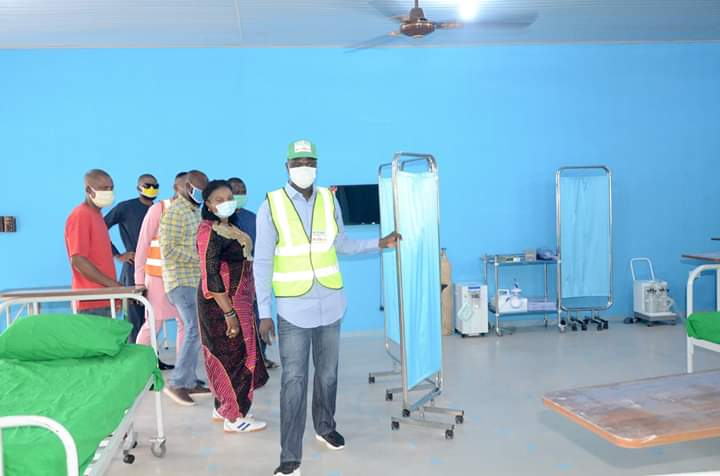 COVID-19: Governor Umahi Commissions 150-Bed Hospital In Ebonyi (Photos)