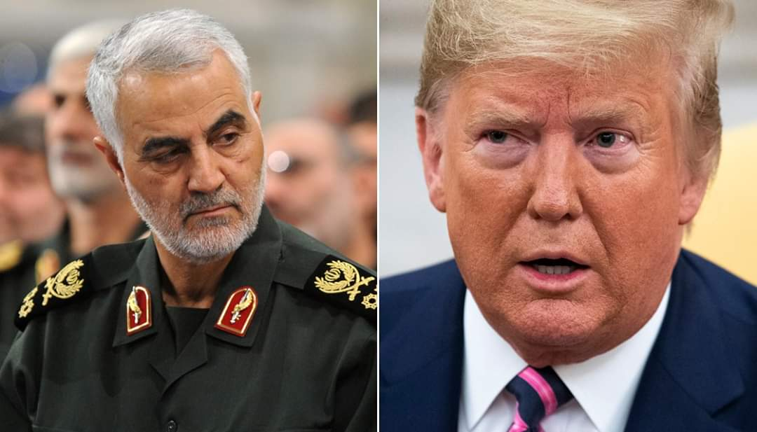 Iran Issues Arrest Warrant On President Trump Over Killing Of Top General