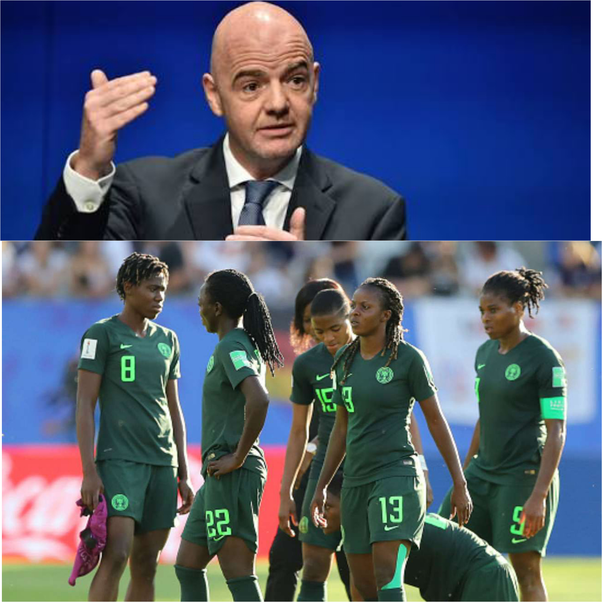 FIFA Confirms Payment Of $700,000 Owed To Super Falcons For World Cup Participation
