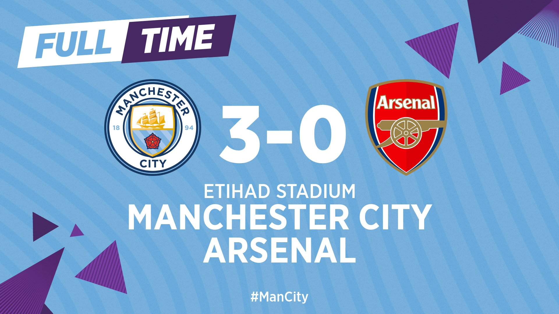 Man City 3–0 Arsenal Highlight Mp4 Download