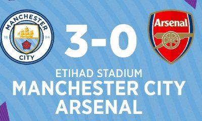 VIDEO: Man City 3–0 Arsenal – 2019/20 English Premier League 1